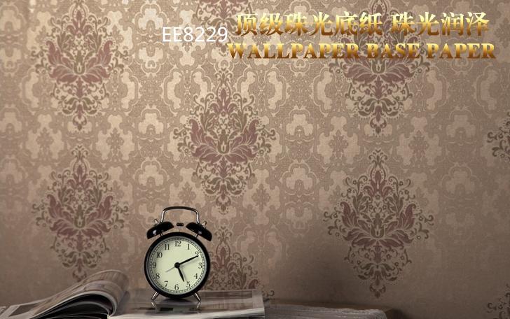 米兰墙纸 无纺布墙纸 环保透气 发泡花纹 双色花纹 客厅 卧室 背景