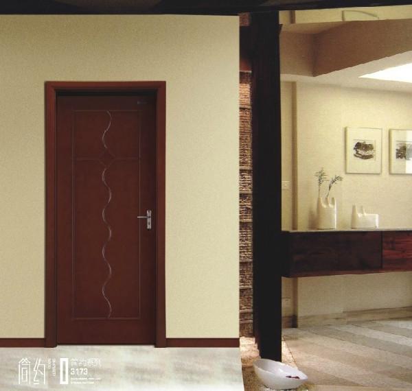 美心套装门欧式木门烤漆门实木3173