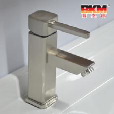 贝克玛 全铜结构 表面拉丝 BKM-726浴室柜面盆龙头