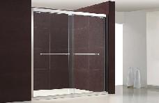 美丽华淋浴房铂金II型不锈钢(两移门/一固两移/两固两移)