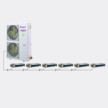 gree/格力家用中央空调gpd变频小8p匹一拖六gmv-pd180w/nabs-n1