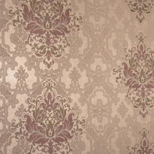 环保透气发泡花纹双色花无纺壁纸 客厅卧室背景墙纸