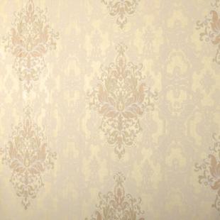 米兰壁纸 发泡花纹双色花无纺壁纸