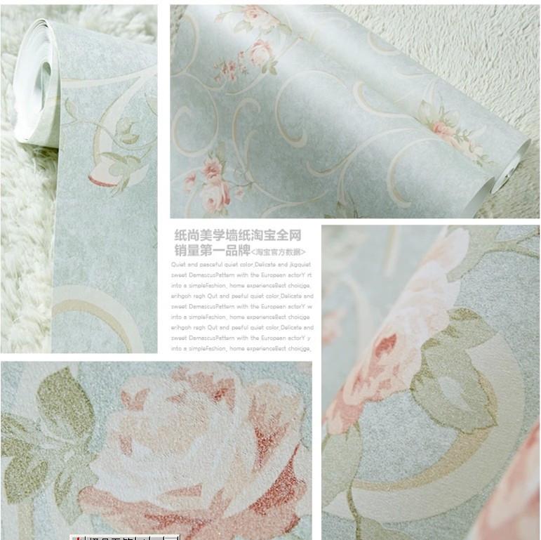 美式田园/ha33015/彩铅手绘风格/客厅卧室壁纸