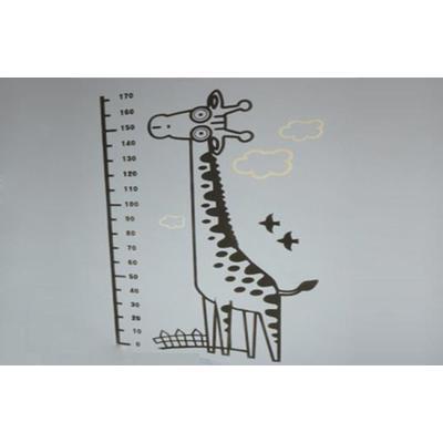 绿森林硅藻泥环保艺术墙长颈鹿花纹