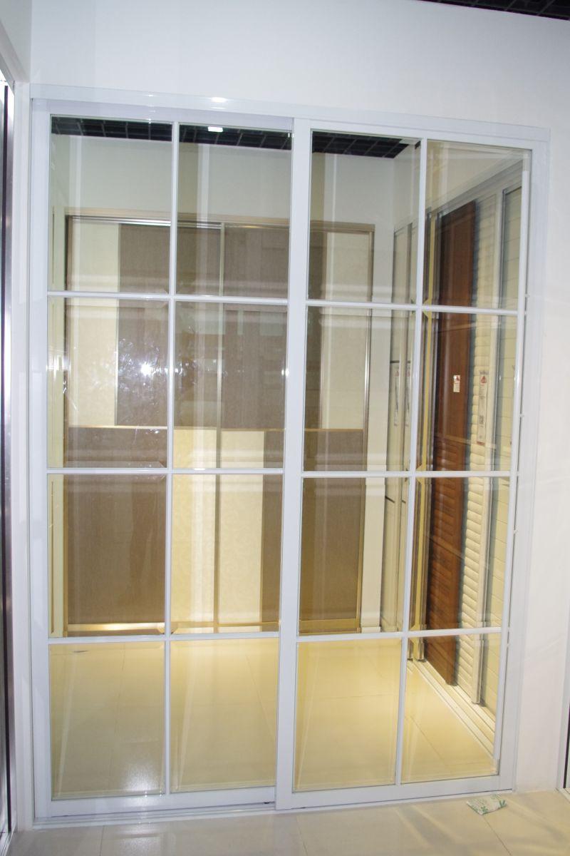 不锈钢边框玻璃门