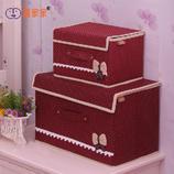 收纳箱有盖 整理箱 衣物玩具 百纳箱 储物箱 收纳盒