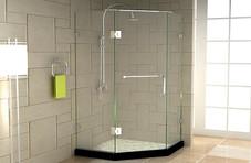 美丽华淋浴房10mm钢化耀华皮尔金盾原片,新瑞高开门(可做一字/钻石/直角)