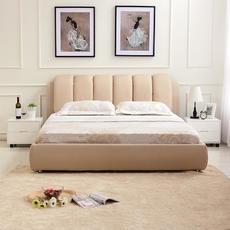 四格夏季新款1.8米布艺床双人棉麻透气软床六尺布床233|上海包安装,江浙市区包送货到楼下,大小皆如你意,定制专属您的卧室空间