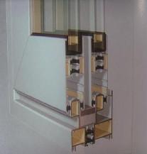 【万增门窗】白色凤铝断桥1.4mm 移窗中空隔音 上门测量