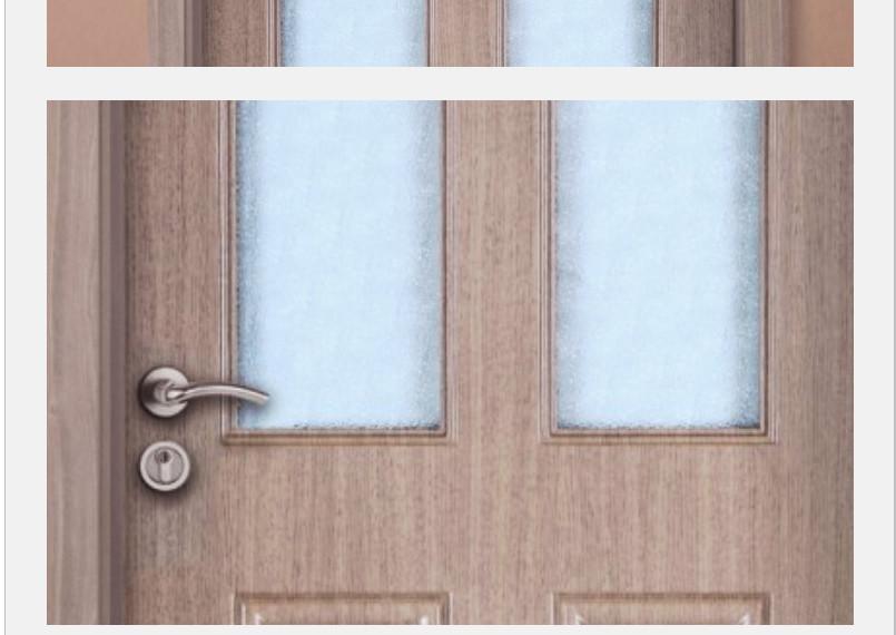 麦森工艺门 低碳木门 玻璃系列 n875图片