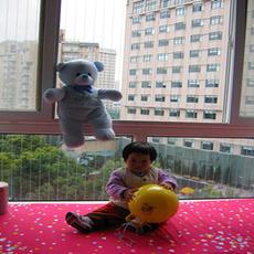 明亮【宝宝安全窗-01 】 隐形防护窗/网、阳台窗、防跌落窗