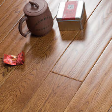 永顺地板 实木地板 橡木仿古910*92-98*18