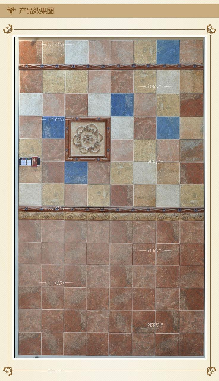树脂花片 浮雕 欧式风格 厨房瓷砖 卫生间仿古砖花片