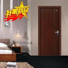 星星套装门平板银线门室内门木门