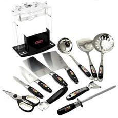 选夫人 套刀 厨房家用菜刀不锈钢刀具十二件全套装十八子作