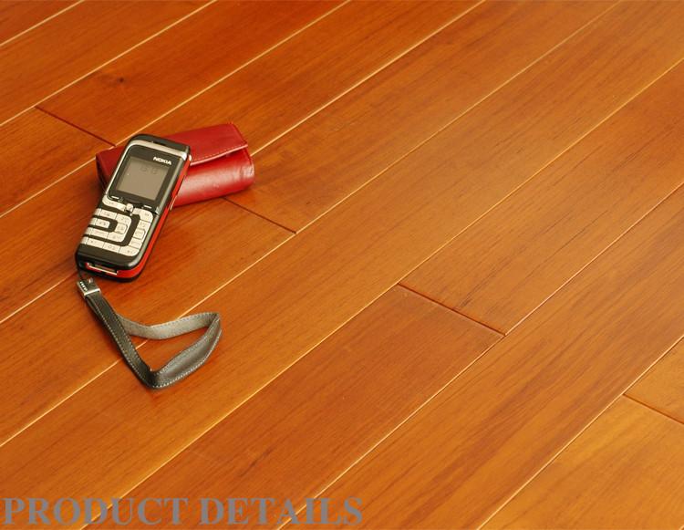 康辉地板 实木多层 柚木本色 地暖地热专用