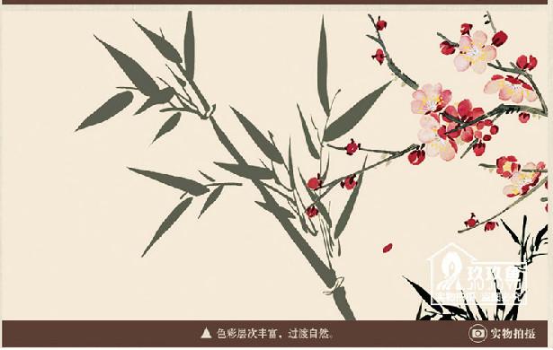 【玖玖鱼瓷砖】 中式电视背景墙砖
