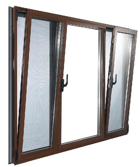 凤铝55断桥铝门窗 隔音窗 断桥铝合金门窗隔音平开上悬窗户