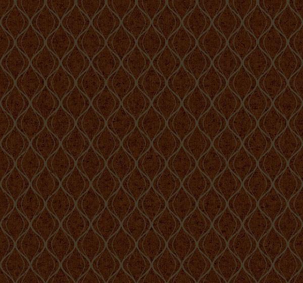 美国维思戴克壁纸 金属拉丝面 简约曲线条纹 无妨底大