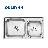 欧琳水槽套餐OL-升级为OL7502龙头|【上海包邮送货入户】