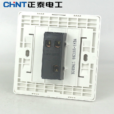 【正泰电工】正泰new7系列new7-e003b插座一开双控开关面板插座