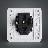 西门子开关插座面板10A五孔插座 远景系列 5UB01061CC1