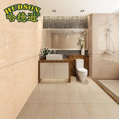 哈德逊 欧式厨房墙砖卫生间内墙砖洗手间瓷砖厨卫腰线