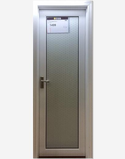 深长江彻里尼系列白色卫生门 厨房门 厕所玻璃门 铝合金平开门 厂家