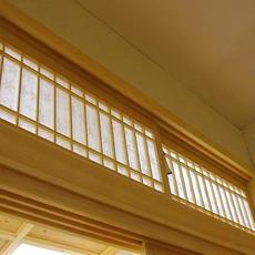 日式格子栏间栅格隔断格子小门空调出风挡片装饰格子窗日式通风口