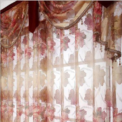 欧式窗帘蔓头款式