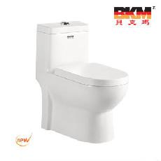 贝克玛卫浴 BKM-9048 虹吸式连体座便器/马桶