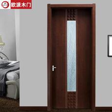 欧派房门OPM-103环保静音王系列 实木复合免漆室内套装门
