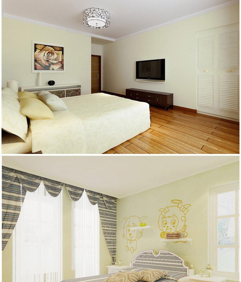 盼盼硅藻泥做卧室(卧室在30平方以内)送背景墙