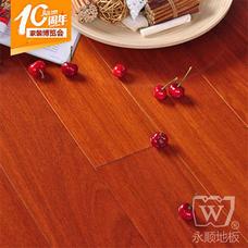 永顺地板 实木地板 香二翅豆610*72-78*18