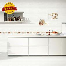 奥佳·圣玛力诺橱柜 玻晶板+石英石台面+ 实木颗粒板柜体
