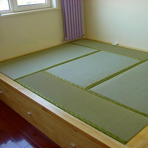 唐蕴和室榻榻米地台订制/塌塌米松木地柜/储物柜/定做 樟子松松木