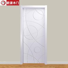 欧派房门OPM-132环保静音王 实木复合门室内套装门木门
