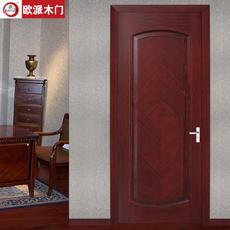 欧派房门荣耀系列OPS-079实木复合烤漆门 室内套装门