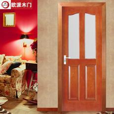 欧派房门荣耀系列OPS-221实木复合烤漆门 室内套装门