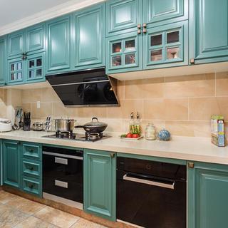 大户型现代美式厨房装修效果图