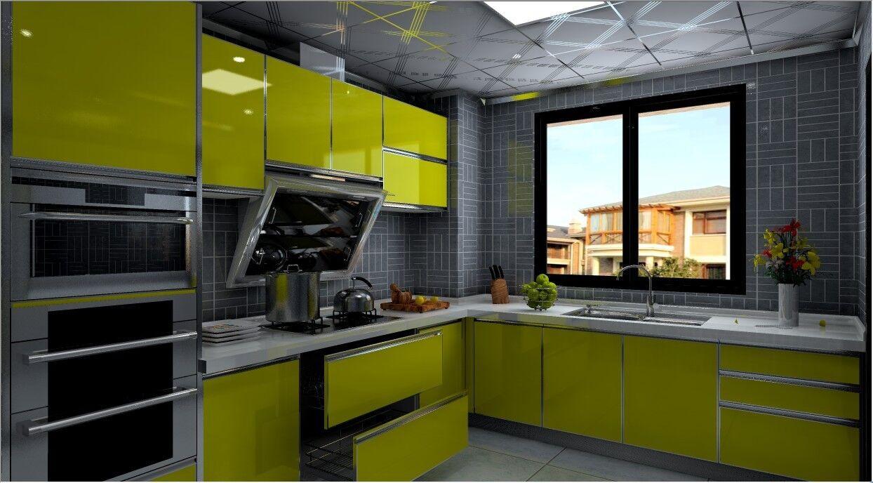 家装主材 厨房用品 橱柜 定制橱柜 京派 整体定制橱柜 简约 亚克力  *图片