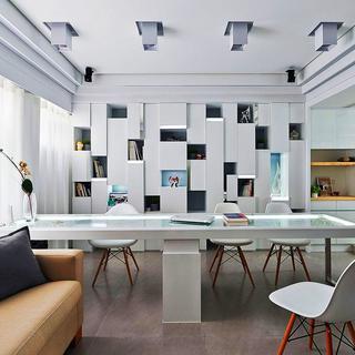60平小户型一居室装修设计图