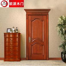 欧派房门荣耀系列OPS-506实木复合烤漆门 室内套装门