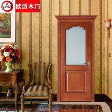 欧派房门荣耀系列OPS-512实木复合烤漆门 室内套装门