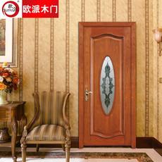 欧派房门荣耀系列OPS-503实木复合烤漆门 室内套装门
