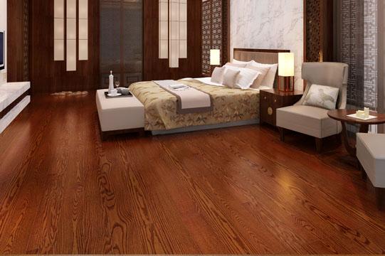 【实木复合地板】扬子地板 yfx1317美国红橡布鲁克林