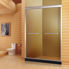 【铝合金】 德卫淋浴房 双门互动推拉门 DM-1001