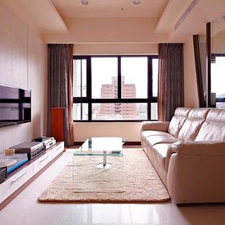 80平简约风格两居室装修图