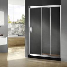 【不锈钢】德卫淋浴房 DM-1082 不锈钢 三移门